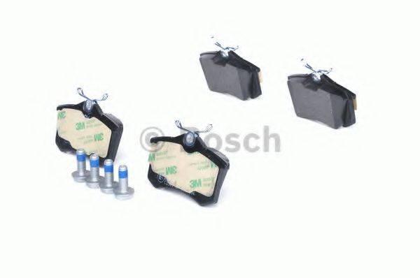 BOSCH 0986461769 Комплект тормозных колодок, дисковый тормоз