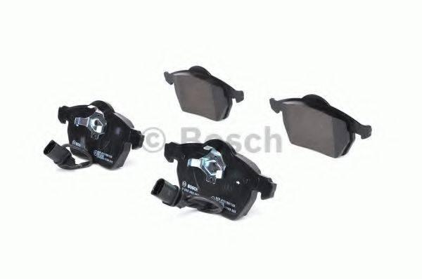 BOSCH 0986494050 Комплект тормозных колодок, дисковый тормоз
