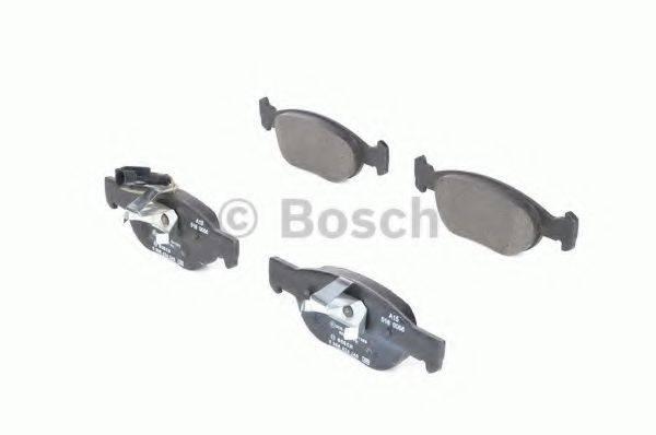 BOSCH 0986424246 Комплект тормозных колодок, дисковый тормоз
