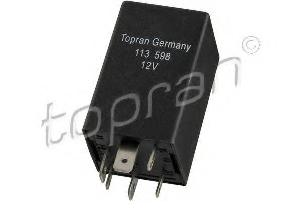 TOPRAN 113598 Реле, кондиционер