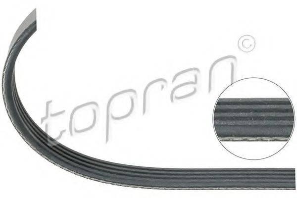 TOPRAN 109660 Поликлиновой ремень