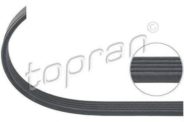 TOPRAN 207890 Поликлиновой ремень