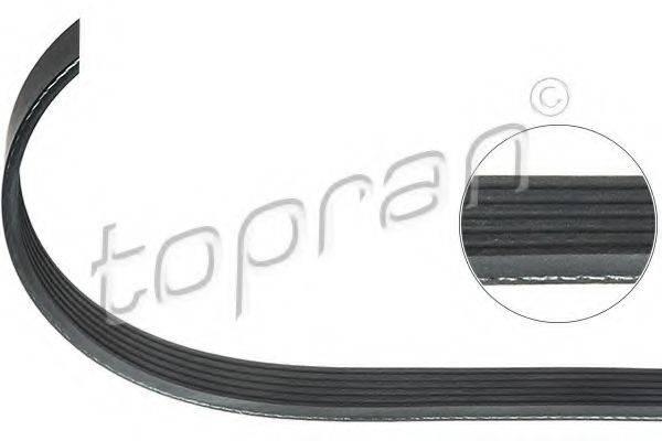 TOPRAN 206251 Поликлиновой ремень