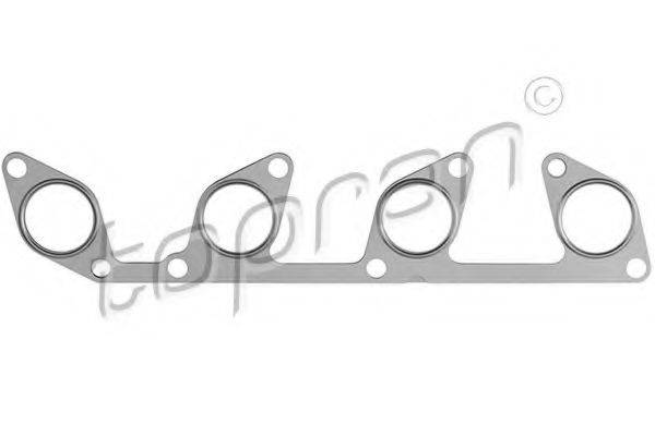 TOPRAN 111927 Прокладка, выпускной коллектор