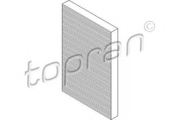 TOPRAN 108412 Фильтр, воздух во внутренном пространстве