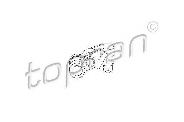 TOPRAN 111628 Балансир, управление двигателем