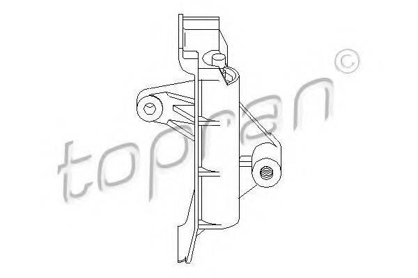TOPRAN 109143 Устройство для натяжения ремня, ремень ГРМ