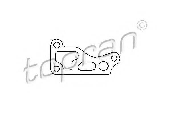 TOPRAN 100312 Прокладка, корпус маслянного фильтра