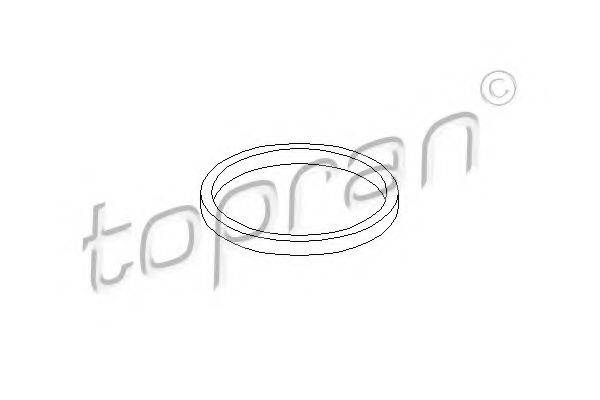 TOPRAN 109621 Уплотняющее кольцо, масляный радиатор