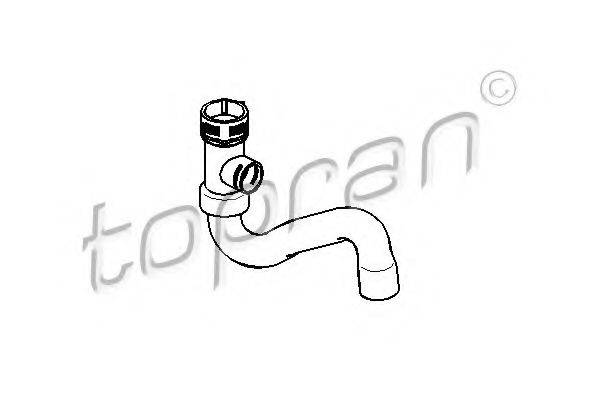 TOPRAN 110664 Шланг радиатора