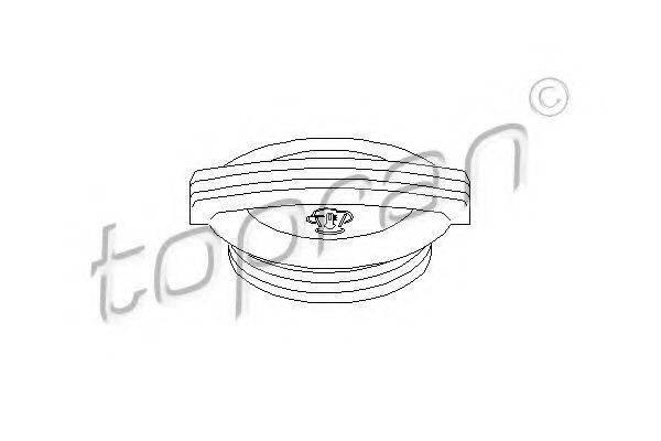 TOPRAN 111023 Крышка, резервуар охлаждающей жидкости