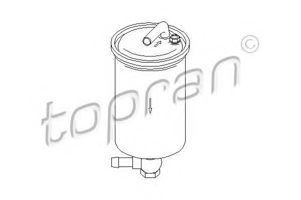 TOPRAN 110863 Топливный фильтр