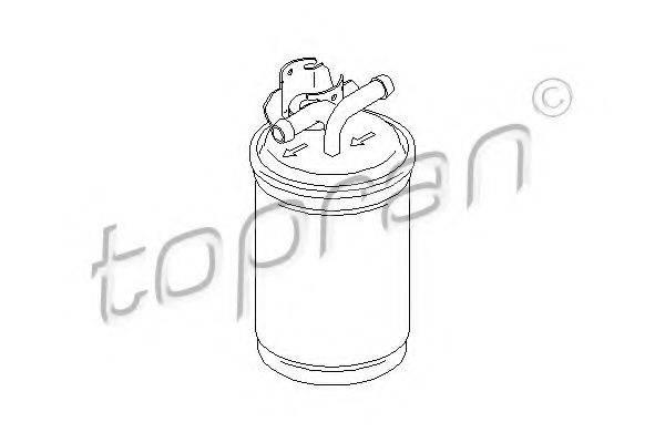 TOPRAN 110731 Топливный фильтр