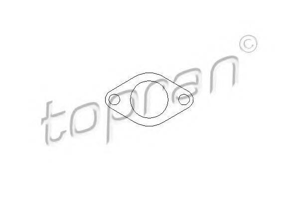 TOPRAN 110376 Прокладка, клапан возврата ОГ
