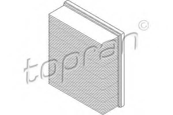 TOPRAN 109043 Воздушный фильтр