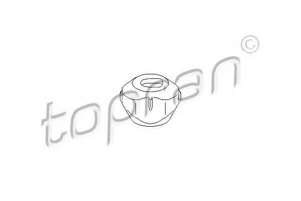 TOPRAN 110384 Подвеска, двигатель