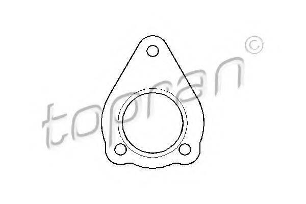 TOPRAN 107440 Прокладка, труба выхлопного газа
