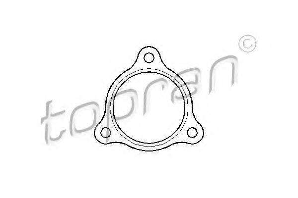 TOPRAN 108181 Прокладка, труба выхлопного газа