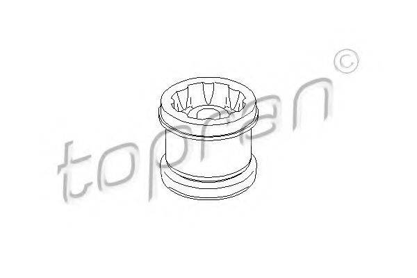TOPRAN 108906 Подвеска, ступенчатая коробка передач