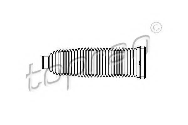 TOPRAN 110967 Пыльник, рулевое управление