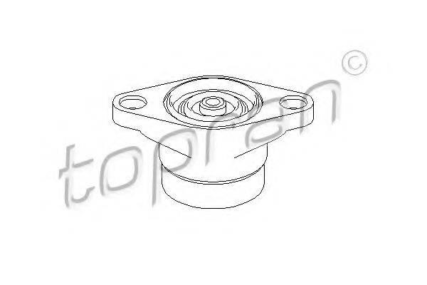 TOPRAN 110531 Опора стойки амортизатора