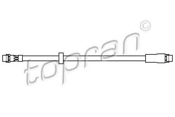 TOPRAN 110411 Тормозной шланг