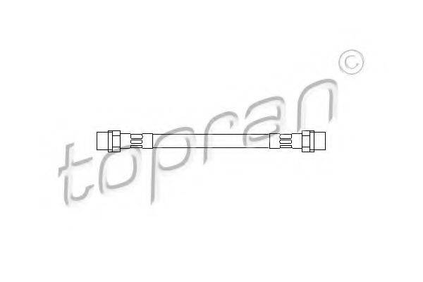 TOPRAN 110256 Тормозной шланг