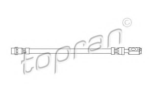 TOPRAN 110412 Тормозной шланг