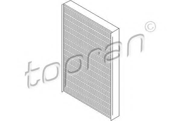 TOPRAN 103764 Фильтр, воздух во внутренном пространстве