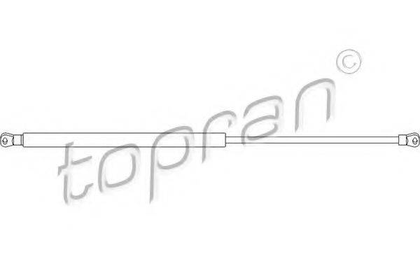 TOPRAN 112057 Газовая пружина, капот