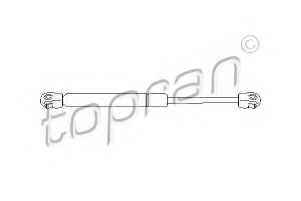 TOPRAN 109904 Газовая пружина, крышка багажник
