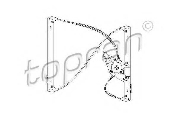 TOPRAN 110451 Подъемное устройство для окон