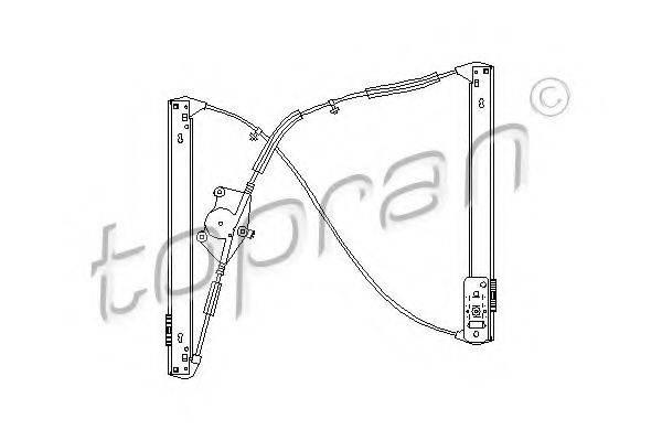 TOPRAN 111276 Подъемное устройство для окон
