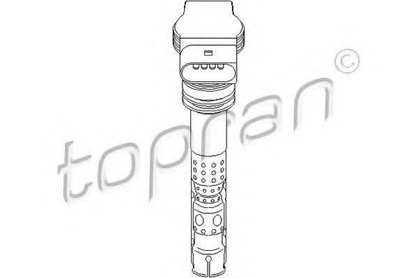 TOPRAN 109541 Катушка зажигания
