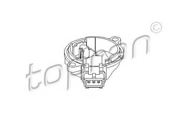 TOPRAN 110573 Датчик частоты вращения, управление двигателем