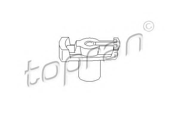 TOPRAN 100708 Бегунок распределителя зажигани