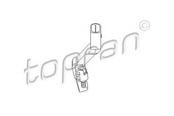 TOPRAN 112110 Датчик частоты вращения, управление двигателем