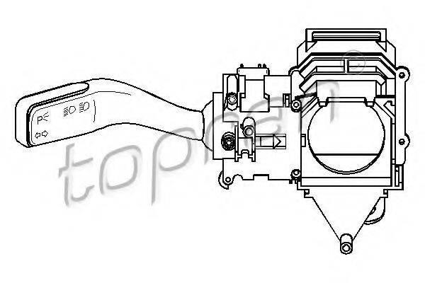 TOPRAN 110108 Переключатель указателей поворота