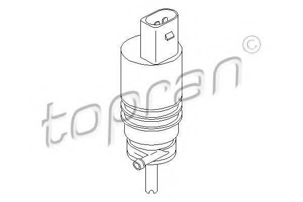 TOPRAN 107818 Водяной насос, система очистки окон