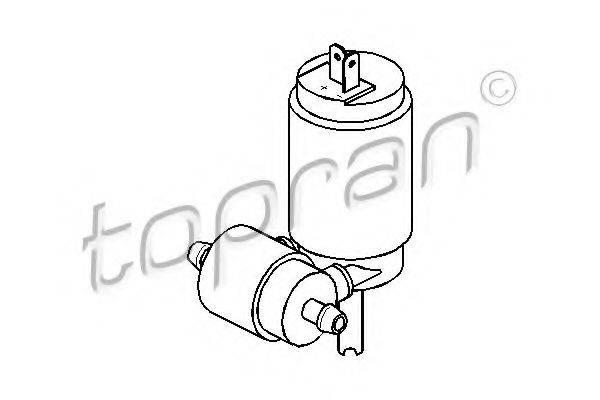 TOPRAN 103443 Водяной насос, система очистки окон
