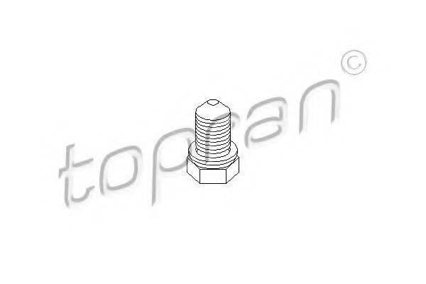 TOPRAN 109035 Резьбовая пробка, маслянный поддон