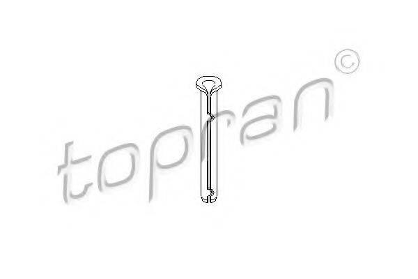 TOPRAN 206055 Шарнир двери