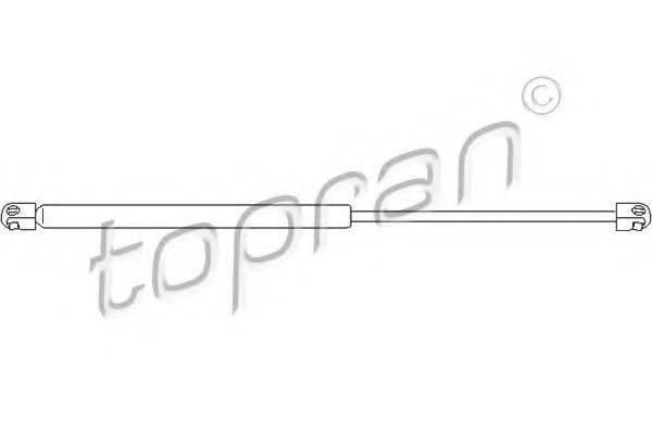 TOPRAN 206319 Газовая пружина, крышка багажник