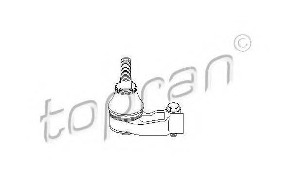 TOPRAN 200384 Наконечник поперечной рулевой тяги