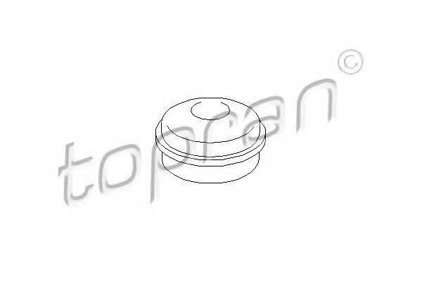 TOPRAN 206440 Предохранительная крышка, ступица колеса