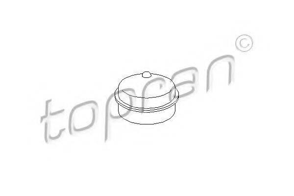 TOPRAN 205457 Предохранительная крышка, ступица колеса