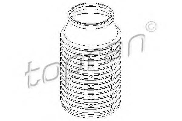 TOPRAN 200431 Защитный колпак / пыльник, амортизатор