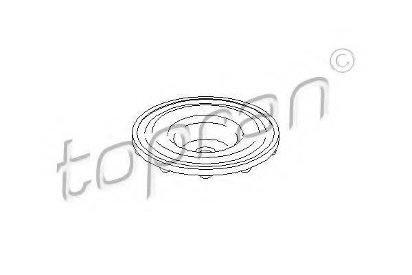 TOPRAN 205466 Опора стойки амортизатора