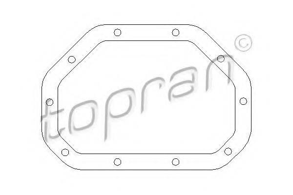 TOPRAN 200512 Прокладка, дифференциал