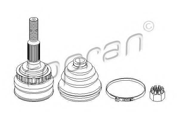 TOPRAN 206114 Шарнирный комплект, приводной вал